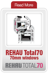 Rehau 70mm Windows