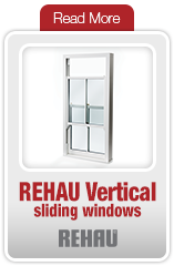 REHAU Vertical Sliding Windows